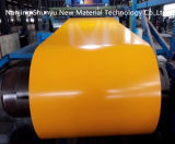 Il colore ha ricoperto la bobina d'acciaio di alluminio del galvalume preverniciata Ral della bobina