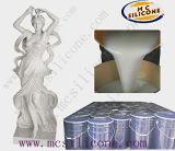 Intonaco del silicone di gomma del modanatura della statua di Parigi, prezzo della gomma di silicone