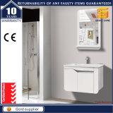 Cabina blanca montada en la pared de la vanidad del cuarto de baño del MDF Panit de las mercancías sanitarias