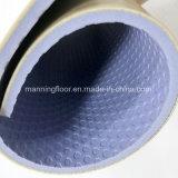 실내 농구 목제 패턴 4.5mm 두꺼운 Hj6813를 위한 마루가 PVC에 의하여