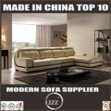 Sofa en cuir italien moderne de salon de constructeurs de meubles