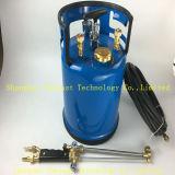 Hangen de Scherpe Toorts van de Benzine van Oxy van het houvast/de Machine en de Draagbare Schouder (achter) Scherpe Toorts voor Lassen