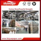 Fw 74inch (1.87m) 45GSM 엄청나게 큰 롤 승화 종이는 고속 인쇄 기계로 비 컬한다