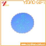 Il calore resiste alla stuoia variopinta personalizzata della tazza del silicone da vendere