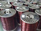 Fourniture d'usine de fil rond en cuivre émaillé pour électronique
