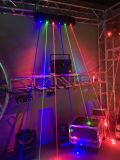 Ga-L1005 G100MW / 520nmx2PCS B500mwx2 R300mwx2 Laser Array Beam