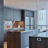 島が付いているホームデザイン台所家具の食器棚