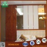 Mobília de madeira moderna do hotel, jogo de quarto barato do hotel