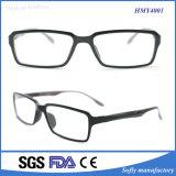 Marcos completos ópticos vendedores calientes de la lente cuadrada Tr90 del diseño