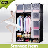 Simple Portable Storage Cabinet Tissu Chambre Meubles Armoire