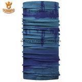 卸し売り習慣によって印刷される多機能のバンダナポリエステル継ぎ目が無いスカーフ