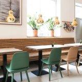 의자를 식사해 현대 디자인 나무로 되는 얼간이