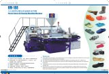 PVC PVC Air Blowing Slippers / Shoes Making Machine