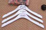 Pantalla de exhibición superior Percha de madera para vestidos