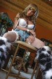 Maniquíes adultos de la muñeca del sexo del silicón de la muchacha de América