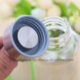 De Kruik van het Flessenglas van het Drinkwater van het Flessenglas van het Water van het Fruit van het Flessenglas van het Water van het Glas van Borosilicate van de heet-verkoop
