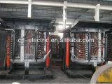 Oven van de Uitsmelting van de Inductie van de goede Kwaliteit de Hydraulische Overhellende voor Aluminium