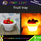 Bar Home Fruit Tray avec éclairage LED sans fil