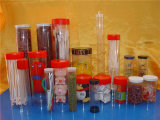 Paquete de regalo Clear Pet / PETG Plastic Food Tubes