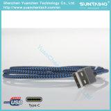 Tipo cable del USB 2.0 de C