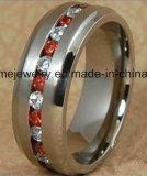 Boucle titanique de Jewellry de pierres de la qualité 9 de bijou de Shineme (TR1871)