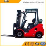 China Red 2500kg Dual Fuel Gasoline / LPG Forklift on The Market