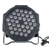 36PCS 1W LED PAR Lights Éclairage Éclairage RVB DMX512 DJ Disco Bar Party Light