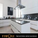 Neuer glatter kundenspezifischer modularer hölzerner Küche-Schrank