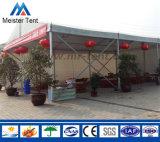 Tenda su ordinazione del ristorante del tetto di stampa di stile aperto esterno per approvvigionamento
