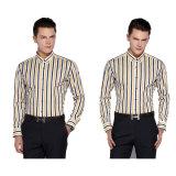 Camicia di vestito convenzionale su ordinazione dagli uomini lunghi adatti del manicotto di cotone