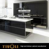 光沢度の高いアクリルPVC台所家具(AP031)