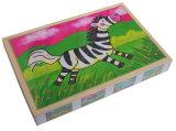 Деревянные 4 в 1 головоломке в коробке