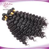 Человеческие волосы девственницы верхней волны ранга свободной бразильские