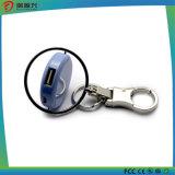 caricatore portatile della banca di potere con la catena chiave per il carico del telefono mobile