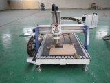Mini ranurador publicitario del CNC para el aluminio de madera del metal