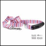 米国旗の昇華はプラスチックグリップのハンドルを持つ犬の鎖のリーダーを印刷した
