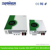Controlador solar interno 3kVA do inversor puro de alta freqüência MPPT da onda de seno