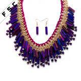 模造宝石類最新のデザインボヘミア様式の多色刷りのカスタム宝石類セット