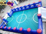 Corte gonfiabile di gioco del calcio con la parte inferiore del PVC