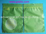Bolso plástico del alimento de la cremallera del sello lateral tres