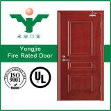 Деревянная дверь доказательства пожара с привлекательным ценой