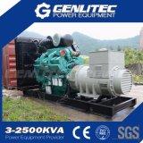 générateur insonorisé de diesel de 50Hz 600kw 750kVA Cummins