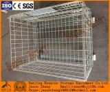 足車との倉庫の記憶のための鋼線の網パレットケージ
