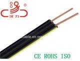 Câble parallèle d'acoustique de connecteur de câble de transmission de câble de caractéristiques de câble de fil/ordinateur de baisse de Rus (REA) PE-7PE/PVC