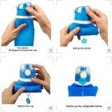 Botellas de agua plegables del deporte del silicón