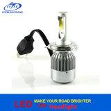Nécessaire haut-bas de conversion de lampes de phare de véhicule de la puce 7200lm H4 Hi/Lo Hb2 9003 DEL d'ÉPI