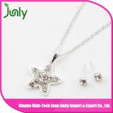 Изготовленный на заказ чувствительные серебряные комплекты ожерелья ювелирных изделий для женщин
