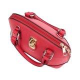 Senhora vermelha Escudo Saco Mulher Bolsa do fechamento dianteiro da forma (MBNO042038)