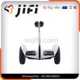 電気スクーターのバランスをとる情報処理機能をもったスクーターの2車輪