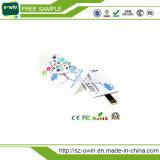 Promoción 1GB-128GB Tarjeta de crédito de visita de encargo de Flash USB con Logo gratis